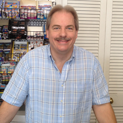 Queen City Comics Owner Geoff Hoffman