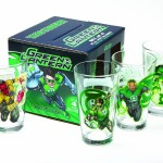 Green Lantern Drinking Glasses