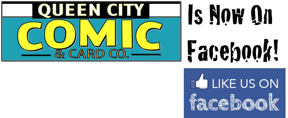Like Queen City Comics on Facebook