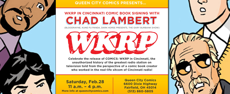 WKRP in Cincinnati Comic Signing Event