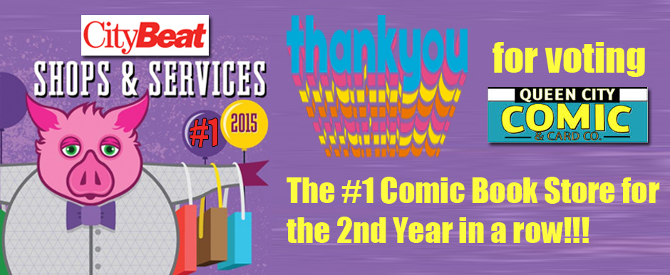 Queen City Comics Best Comic Book Shop CityBeat 2015