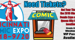 Get your 2015 Cincinnati Comic Expo Tickets at QCC