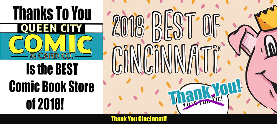 Winner Best Comic Book Store in Cincinnati 2018